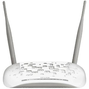 Modem Roteador Wireless 300Mbps + Splitter ADSL2 TD-W8961ND - TP-Link