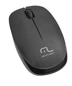 Mouses Optico Sem Fio 1200Dpi 2.4Ghz Preto Multilaser