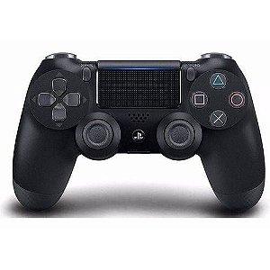 Controle Sem Fio Sony Dualshock 4 Jet Black