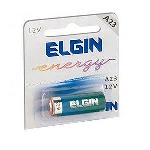 Bateria Pilha Alcalina 12V  A27 Elgin
