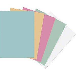 Papel Cartolina Azul Escolar 50x66cm.140grs. Jandaia