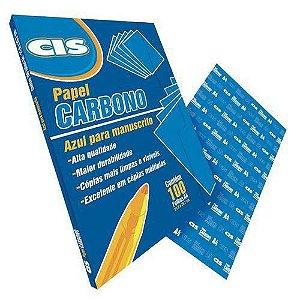 Carbono Papel Manuscrito Azul Cis 1 Folha