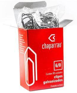 Clips Galvanizado N.00 2/0 Caixa Com 100 Unidades -chaparrau