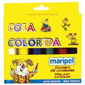 Cola Colorida  25g Maripel