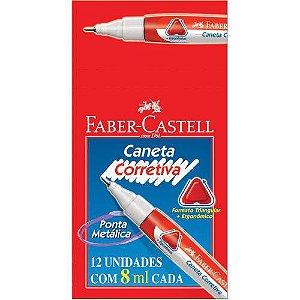 CANETA CORRETIVA 8ML (OVAL)(FABER)