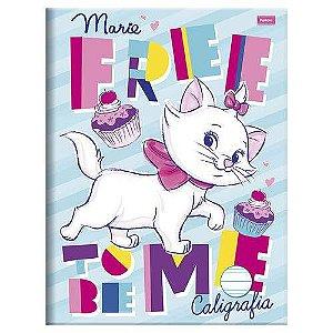 Caderno  Brochura De Caligrafia  Disney  Marie I  96 Folhas Foroni