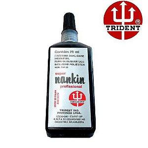 Tinta Nanquim Preta 20ml Tnf-20 - Trident