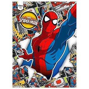Caderno Linguagem Broch 48f Cd 143987 Spider Man Top Tilibra