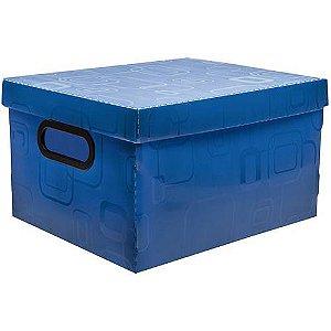 Caixa Organizadora Dellosmile Pequena Azul