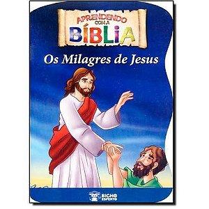 LIVRO APRENDENDO COM A BIBLIA-OS MILAGRES DE JESUS BICHO ESPERTO