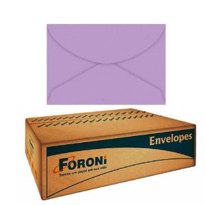 Envelope Color Plus Carta 114X162mm