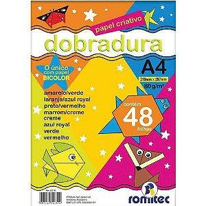 Bloco Para Educacao Artistica Dobradura Criativo A4 48f.75g Romitec/plastpark