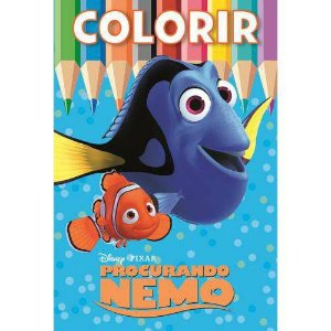 Disney colorir medio - procurando nemo