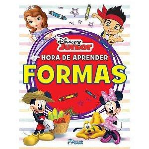 LIVRO DISNEY JUNIOR - HORA DE APRENDER-FORMAS BICHO ESPERTO