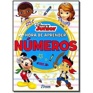 LIVRO DISNEY JUNIOR - HORA DE APRENDER-NUMEROS(BICHO ESPERTO)