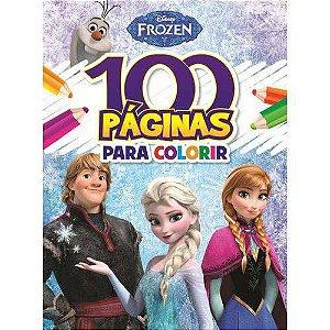 Frozen - colecao 100 pagina para colorir