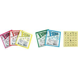 Bloco Para Bingo Jornal 120x108mm 100 Folhas Tamoio
