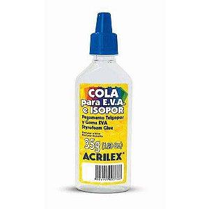 Cola Para Isopor Acrilex Isopor E Eva 35g Acrilex