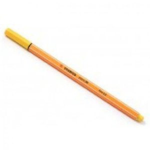 Caneta Stabilo Point 88 0.4Mm -  Amarelo Neon