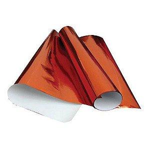 Papel Laminado 48cmx60cm Vermelho  -vmp
