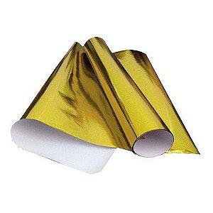 Papel Laminado 48cmx60cm Ouro  - Vmp