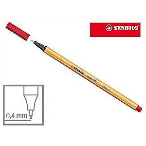Caneta Stabilo Ponta 0,4 mm Point 88 Rosa Neon Un