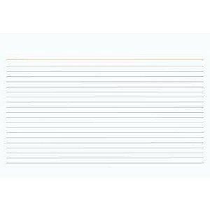 FICHA PAUTADA N1 (3X5)(127X76)(PC.100F)(TILIBRA)