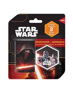 Kit Apontador + Borracha Star Wars