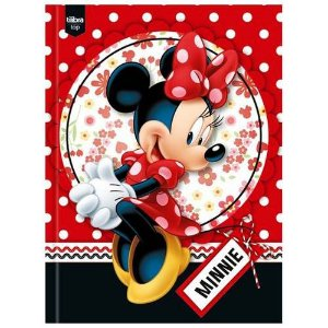 CADERNO BROCHURAO CD 48F MINNIE (TILIBRA)
