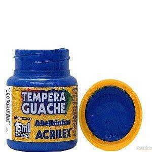 Tempera Guache 15ml Azul Turquesa