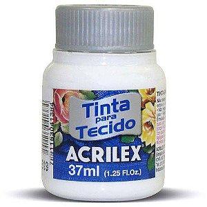 Tinta Tecido Fosca 037ml Branco Acrilex