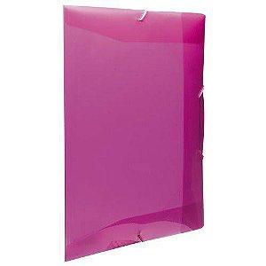 Pasta Aba Escolar Elastico Oficio Rosa Pink