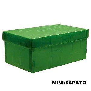 Caixa Organizadora Mini/Sapato Verde Dello