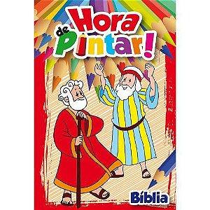 LIVRO HORA DE PINTAR PERSONAGENS DA BIBLIA (BICHO ESPERTO)