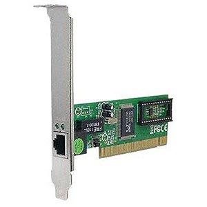 PLACA REDE PCI 10/100 MULTILASER GA131