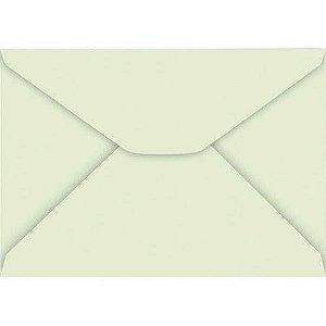 Envelope Carta Colorido 114X162Mm Verde Claro 85G Cx.C/100 Foroni