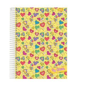 CADERNO CD UNV 20MAT POP COLLECTION (FORONI)