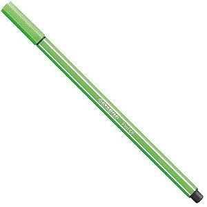 Caneta Ponta Sintetica Stabilo Pen 68 Maca Verde Sp68 33