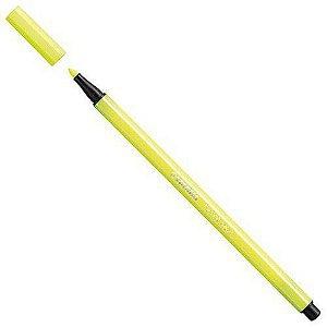 Caneta Stabilo Pen 68/24 Amarelo - 33.6703