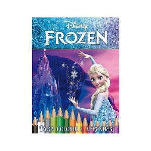 Kit Disney Com DVD - Frozen - Caixa Com 5 Em 1