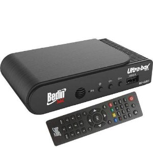 Receptor E Conversor Digital Ultra Box, Canais Digitais, HD BedinSat