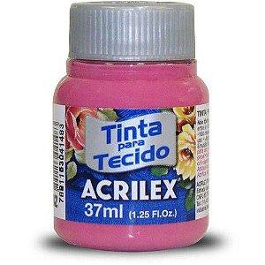 TINTA TECIDO 37ML ROSA ESCURO (ACRILEX) 542