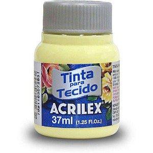 Tinta Tecido Fosca 037ml Amarelo Bebe Acrilex