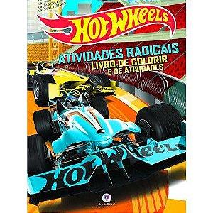 Hot Wheels - Atividades Radicais - Livro de Atividades Para Colorir