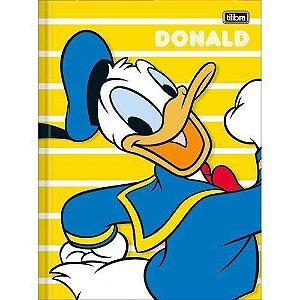 Caderno Brochura Capa Dura Universitario Donald 80 Folhas Tilibra