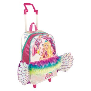Mochilete Grande - Barbie Dreamtopia - Colorida