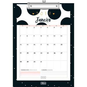PRANCHETA C/ CALENDARIO PLANNER WEST VILLAGE (TILIBRA)