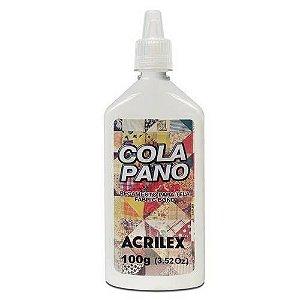Cola Pano Para Tecido 100 gramas pacote com 3 Acrilex