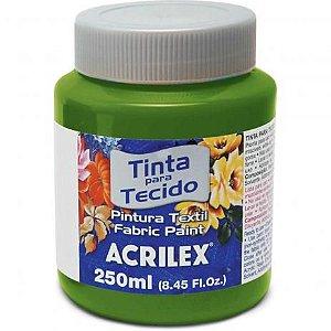 Tinta Tecido Fosca 250Ml Verde Oliva Acrilex