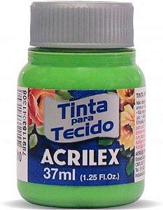 Tinta Tecido Fosca 037Ml Verde Folha Acrilex